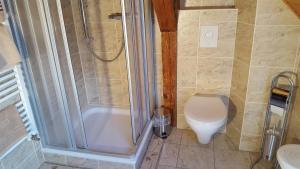 Ein Badezimmer in der Unterkunft Storchennest