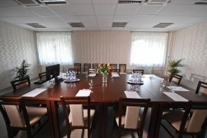 The business area and/or conference room at Hotel Furmint