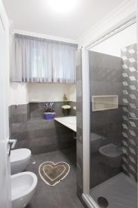 Salle de bains dans l'établissement Residenza Gianicolo
