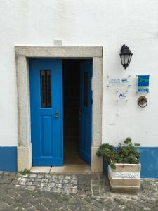 The facade or entrance of Casa das Aguarelas