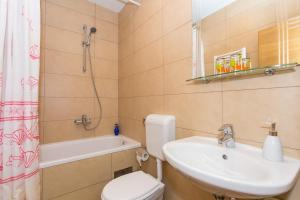 Salle de bains dans l'établissement Guesthouse Zeko Rozat