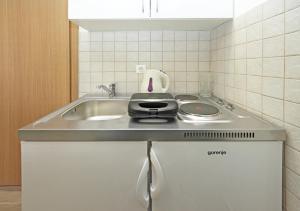 A kitchen or kitchenette at Hortenzia House