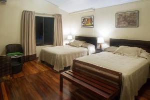 Una habitación en Selva Verde Lodge