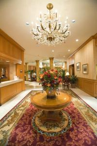 The lobby or reception area at The Saint Paul Hotel