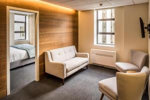 Zona de estar de Park Hotel Lambton Quay
