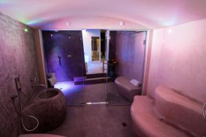 Ванная комната в Hotel Abano Astoria