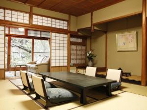 The lounge or bar area at Hashinoya Bekkan Ransui