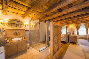 Um banheiro em Casa Savri