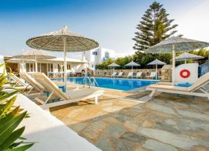 Πισίνα στο ή κοντά στο Anemos Apartments
