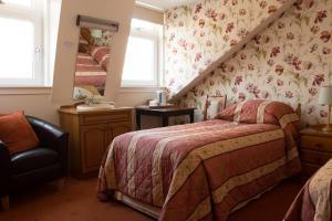A room at Roselea House