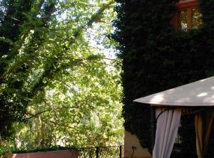 Un patio o zona al aire libre en La Casita del Río