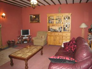 The lounge or bar area at Holiday Home Glenrath