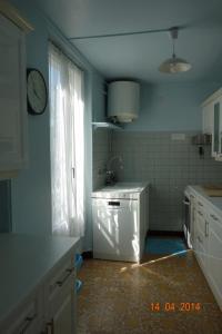 A kitchen or kitchenette at Gîte Florida