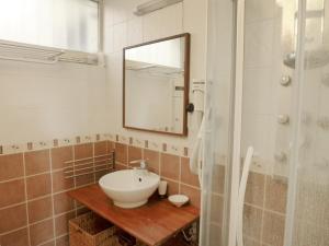 Salle de bains dans l'établissement Apartment Cimes