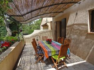 A porch or other outdoor area at Holiday Home Domaine de Saint Martin