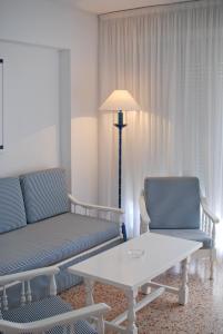 Гостиная зона в Apartamentos Concorde