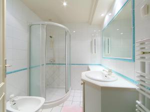 A bathroom at Apartment Presqu'Ile