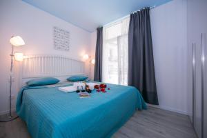 Ein Zimmer in der Unterkunft Piccola Grecia 1