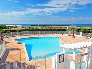A view of the pool at Apartment Le Sunset-Cap Sud-5 or nearby