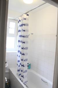 A bathroom at Anson Apartment