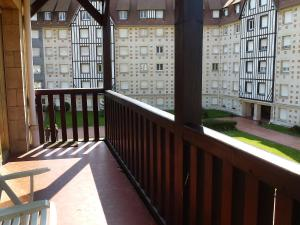 A balcony or terrace at Apartment Castel Guermante