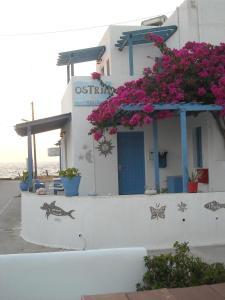 A porch or other outdoor area at Ostria Vento