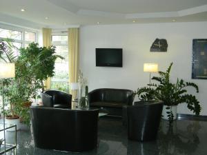 Lobby/Rezeption in der Unterkunft Hotel Stadt Norderstedt