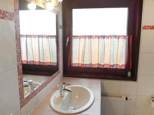 Ein Badezimmer in der Unterkunft Holiday Home Altes Land.2