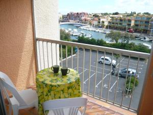 A balcony or terrace at Apartment Les Marines II