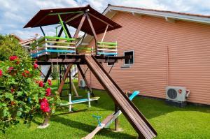 Children's play area at Pousada Gramadense