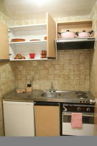 A kitchen or kitchenette at Hotel La Residence Hammamet
