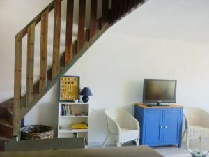 A seating area at Apartment Agde Marine I-3