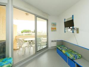 A balcony or terrace at Apartment Copacabana-2