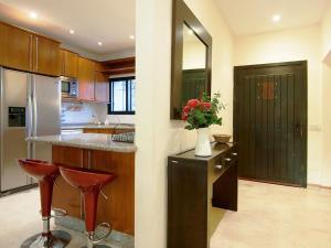 Ett kök eller pentry på Villa Villa Noelia