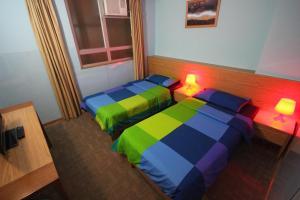 A room at Fuji Hostel