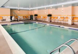 The swimming pool at or close to Fairfield Inn & Suites by Marriott Cape Cod Hyannis