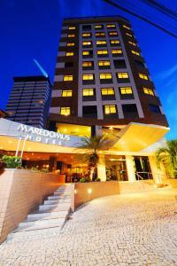 The facade or entrance of Maredomus Hotel
