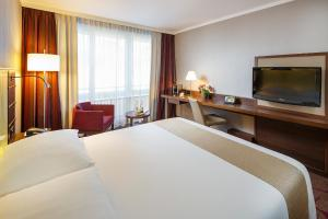 Ein Zimmer in der Unterkunft Hotel Ascot