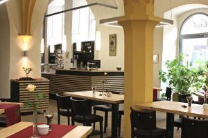 Ein Restaurant oder anderes Speiselokal in der Unterkunft Augustinerkloster Gotha