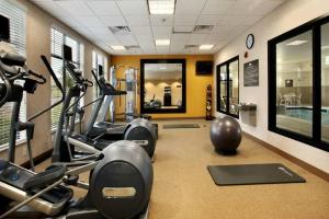 The fitness center and/or fitness facilities at Homewood Suites by Hilton Denver - Littleton