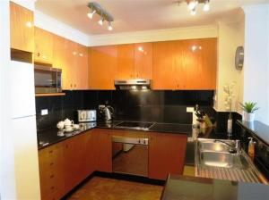 A kitchen or kitchenette at Darling Harbour 1202
