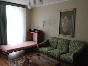 Гостиная зона в Apartment in Svetlogorsk