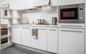 A kitchen or kitchenette at Italianway-B7