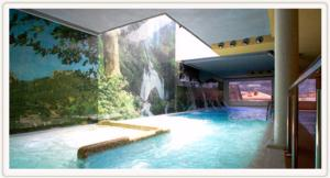The swimming pool at or near Hotel Riopar Spa