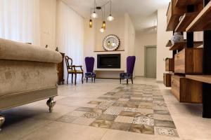 Salon ou bar de l'établissement Navona Luxury Guesthouse