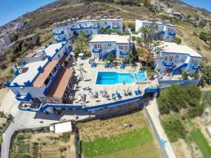 Άποψη από ψηλά του Belvedere Hotel Agia Pelagia