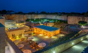 A bird's-eye view of Cave Bianche Hotel