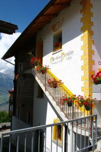 Balcon ou terrasse dans l'établissement B&B Café de la Poste