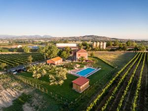 A bird's-eye view of Agriturismo Agrimare Barba