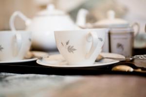 Coffee and tea-making facilities at Burton Court
